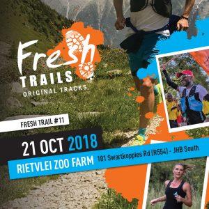 Fresh Trails #11 Rietvlei Zoo Farm